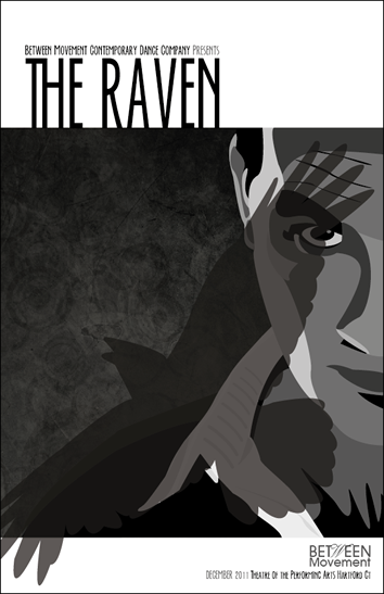 Between Movement: The Raven Poster Design