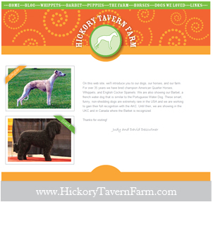 Hickory Tavern Farm Website Design