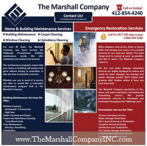 The Marshall Company, INC Website Design